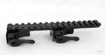 EAW Apel Blaser R93 планка Picatinny, быстросъемн., регул. рычаги. вынос 50мм высота 19,5 мм., сталь