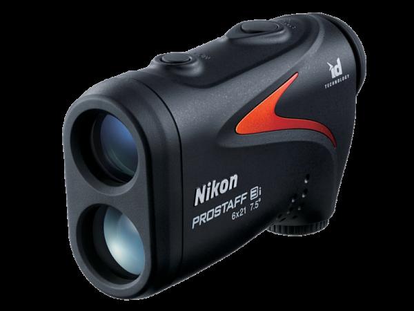 Дальномер Nikon PROSTAFF 3i, замер 7,3-590м., метры/ярды, без подсв., кратность х6, IPX4, батарейка CR2, черный, 160гр