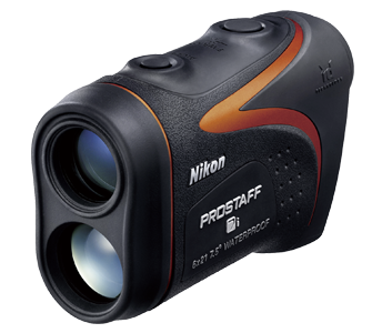 Дальномер Nikon PROSTAFF 7i, замер 7,3-1200м., метры/ярды, крат. х6, IPX4, без подсветки, CR2, пластик, черный, 175гр.