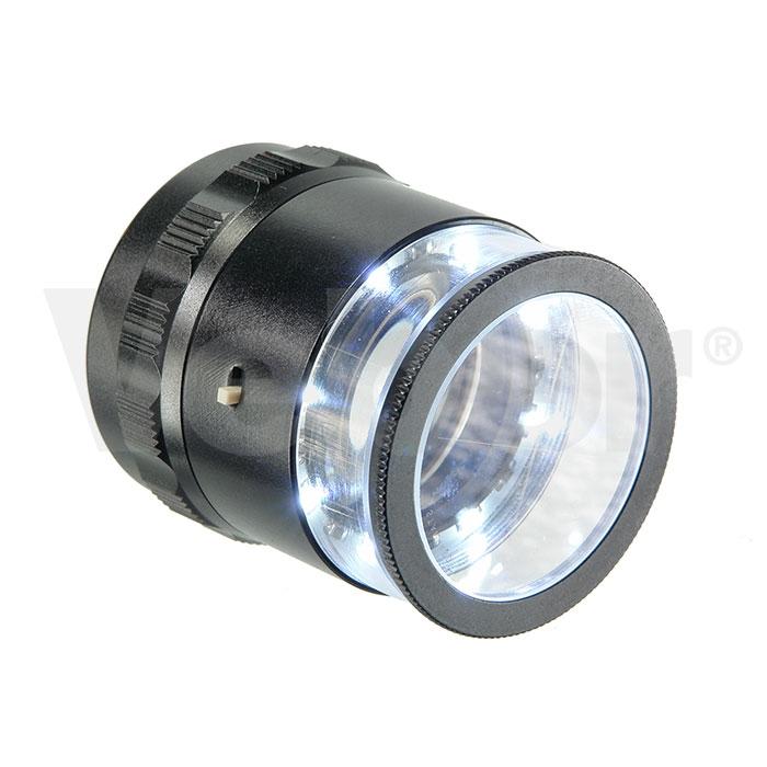 Лупа измерительная 10х25 с подсветкой (MG 7173)