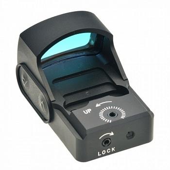 Коллиматор TS-XT4 mini открытого типа, c креплением на Weaver в комплекте, сменная яркость свечения