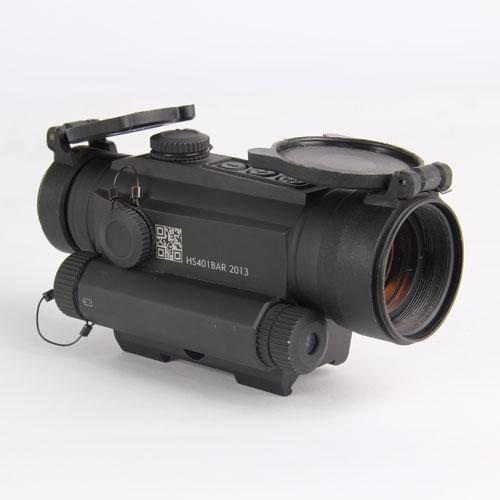 Коллиматор Holosun INFINITI на Weaver/Picatinny+лазер 650 нм,быстросъемн,точка 2MOA, 12 подсв(+NV), 395г 20 шт./уп.