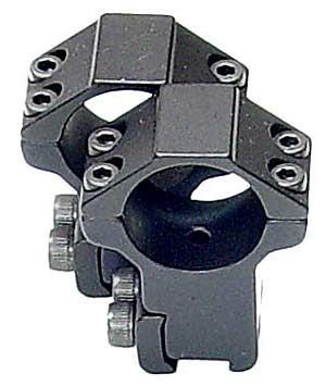 Кольца LEAPERS AccuShot 25,4 мм, на призму 10-12 мм, высокие (100 шт./уп.)