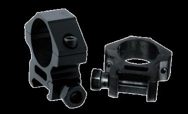 Кольца LEAPERS AccuShot 30мм, на призму 10-12 мм, высокие (100 шт./уп.)