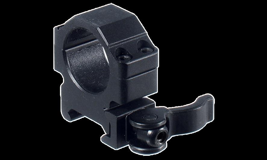 Кольца Leapers UTG 25,4 мм быстросъемные на Picatinny с рычажным зажимом, низкие 100 шт/кор