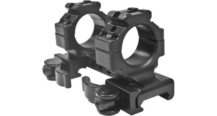 Кронштейн Leapers быстросъемный с кольцами 25,4мм на Weaver/Picatinny, длина 95мм. регулир. рычаги (80 шт./уп.)