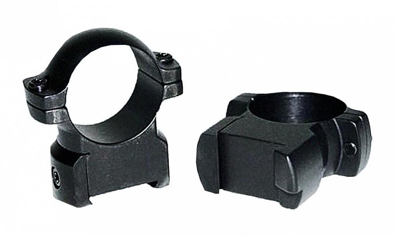Кольца небыстросъемные Leupold RM 26 мм для CZ 550 средние матовые
