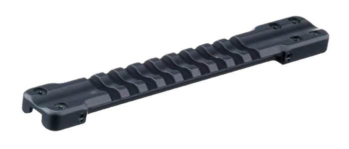 Основание RECKNAGEL Weaver для установки на вентилируемую планку гладкоствольных ружей. Ширина 8,0-9,1мм