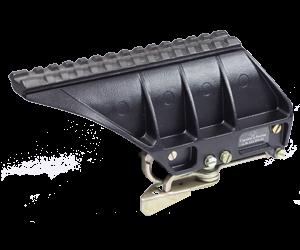 Низкий, длинный, для установки на «Тигр» двух приборов - ночного монокуляра (ПН21К) и широкоугольного прицела (ПО1х20ПМ), длина «Picatinny/Weawer» 176 мм, 17 пазов, высота от центра ЛХ до Picatinny/Weawer 57 мм