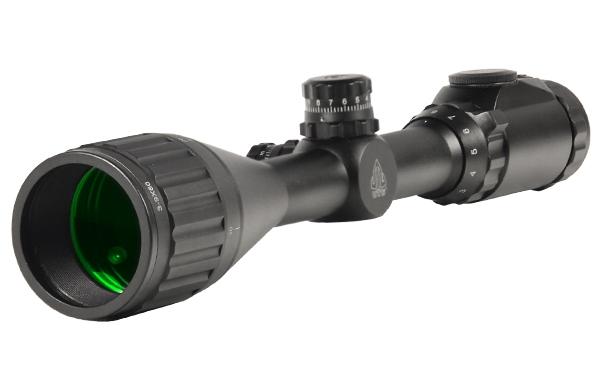 Прицел LEAPERS True Hunter IE 3-9X50 AO 25,4 мм подсв. (36цв), сетка-нить, кольца weaver (12 шт/уп)