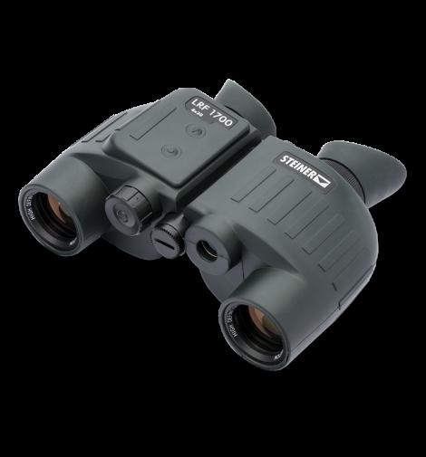Бинокль с лазерным дальномером STEINER LRF1700 8x30, до 1700м, Porro-призмы, автофокус, 795г