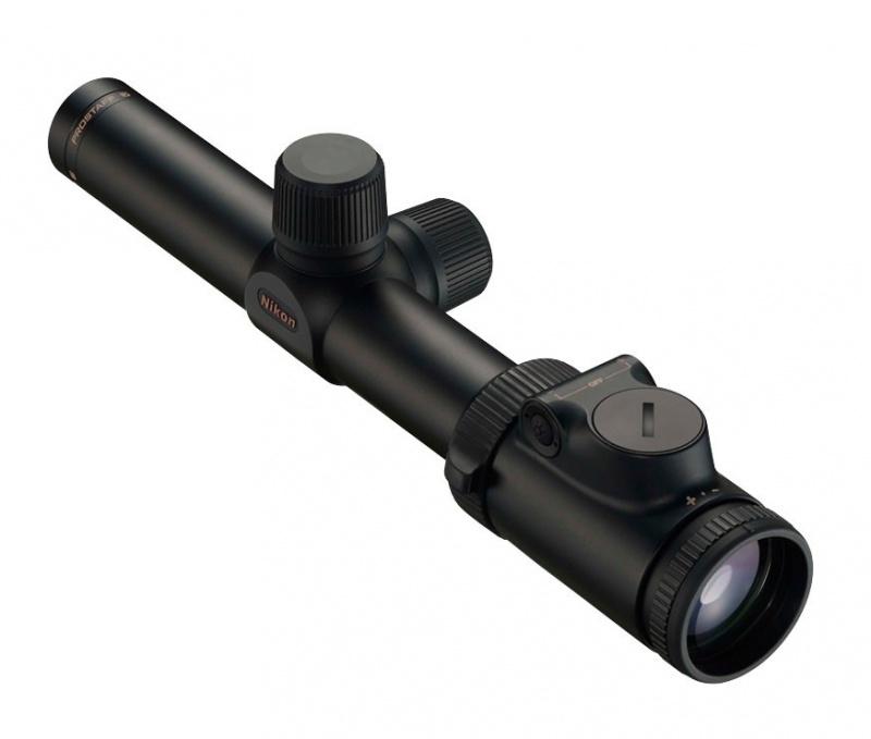 Прицел Nikon PROSTAFF 7 1-4x24 IL Matte, 30 мм, сетка R4 (#4), паралакс 100 м.