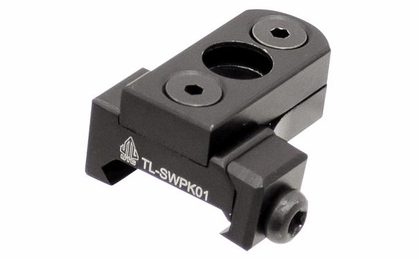 Адаптер Leapers UTG для QD-антабок Ø9.3мм. на Keymod и Weaver/Picatinny, алюминий, черный, 20гр..