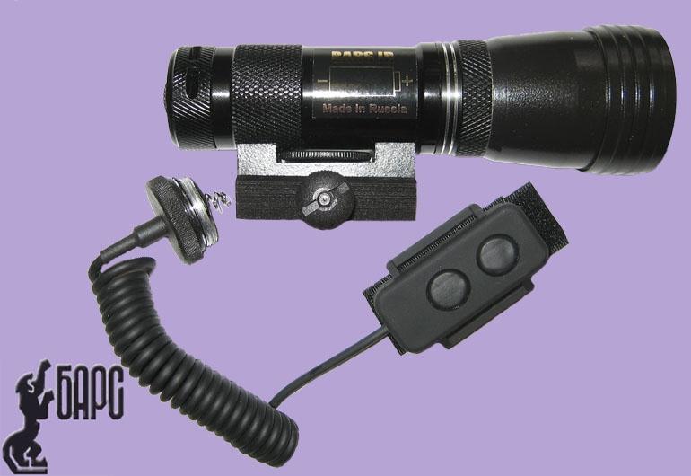 ИК подсветка Bars IR K 3 А 940 нм c кроншт. и кн.