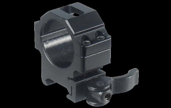 Кольца Leapers UTG 30 мм быстросъемные на Picatinny с рычажным зажимом, низкие 100 шт/кор.