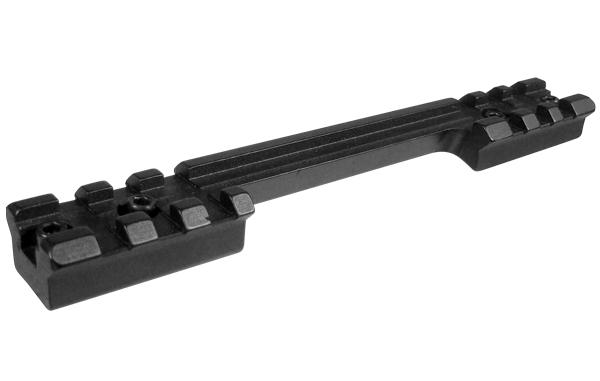 Кронштейн Leapers UTG Weaver на Remington 700, 2х3 слота, длина 139мм, высота 12,5мм, вырез под гильзу, сталь, черный, 122гр.