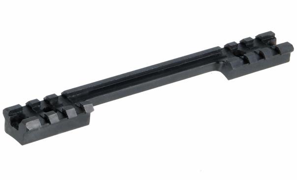 Кронштейн Leapers UTG Weaver на Remington 700, 2х3 слота, длина 160мм, высота 12,5мм, вырез под гильзу, сталь, черный, 130гр.