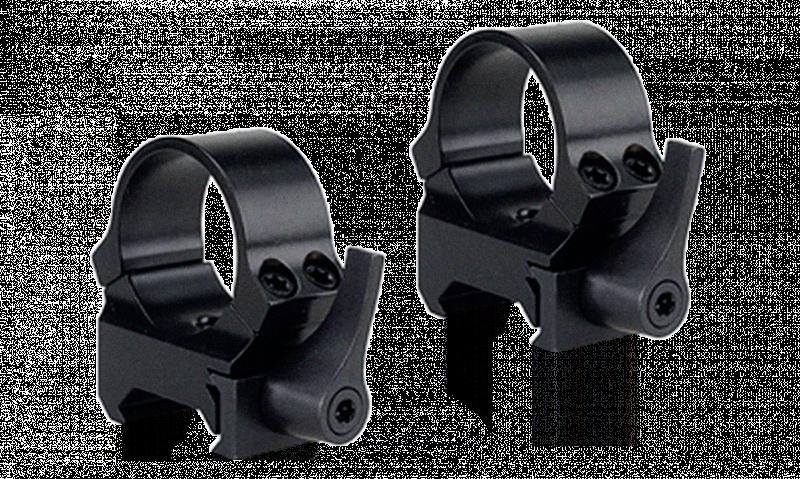 Кольца быстросъемные Leupold - рычаг QRW на Weaver 30 мм низкие матовые