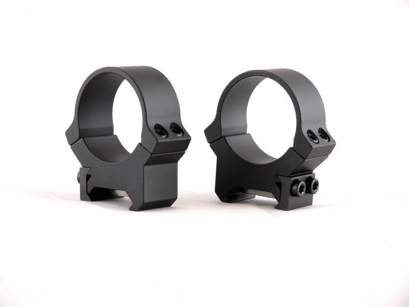 Кольца небыстросъемные Leupold PRW 30мм. на Weaver/Picatinny, средние, матовые, металл, 170гр.