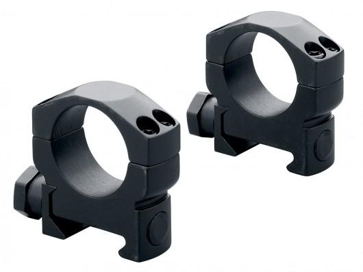 Кольца стальные Leupold Mark 4 на Weaver 26 мм средние, матовые, винтовой зажим